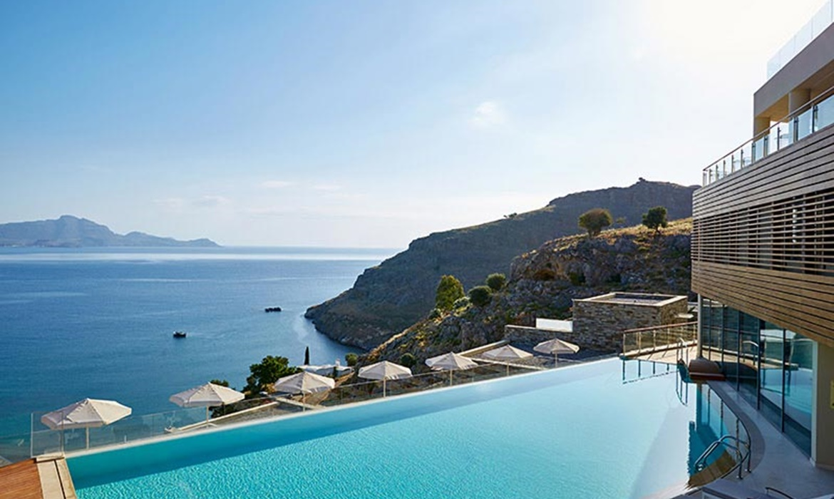 All Inclusive Sun Holidays to Lindos Blu Luxury Hotel & Suites