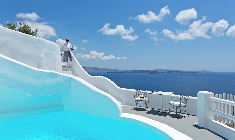 All Inclusive Sun Holidays to Katikies Kirini Hotel