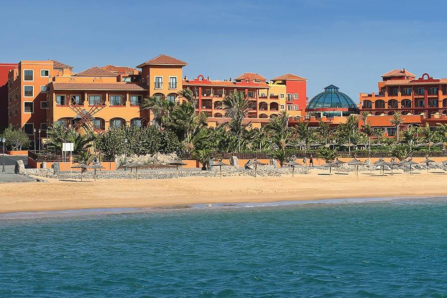 Stay at the Sheraton Fuerteventura Beach Golf & Spa Resort, Caleta de Fuste with Sunway