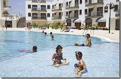 Stay at the Rubimar Suite Aparthotel, Playa Blanca with Sunway