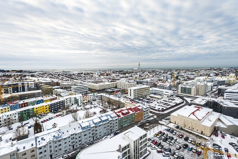 Stay at the Fosshotel Reykjavik, Reykjavik with Sunway