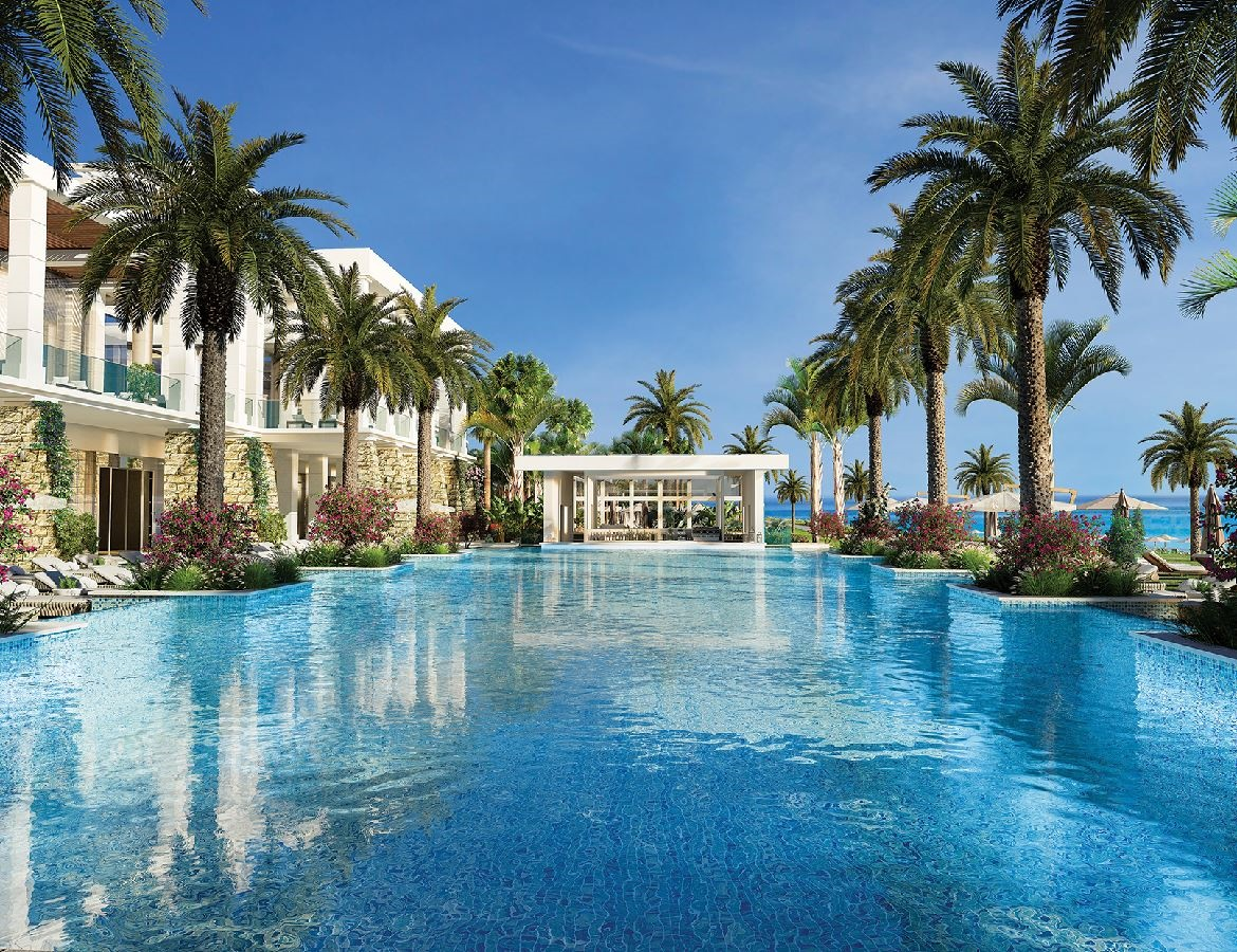 Stay at the Amavi Beach Hotel, Paphos with Sunway