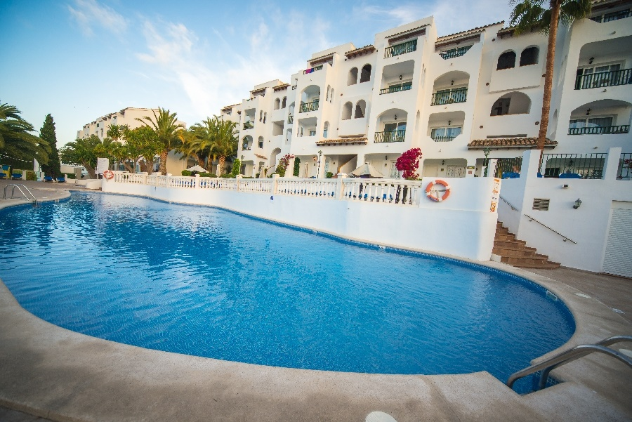 Stay at the Holiday Center Apartments, Santa Ponsa with Sunway