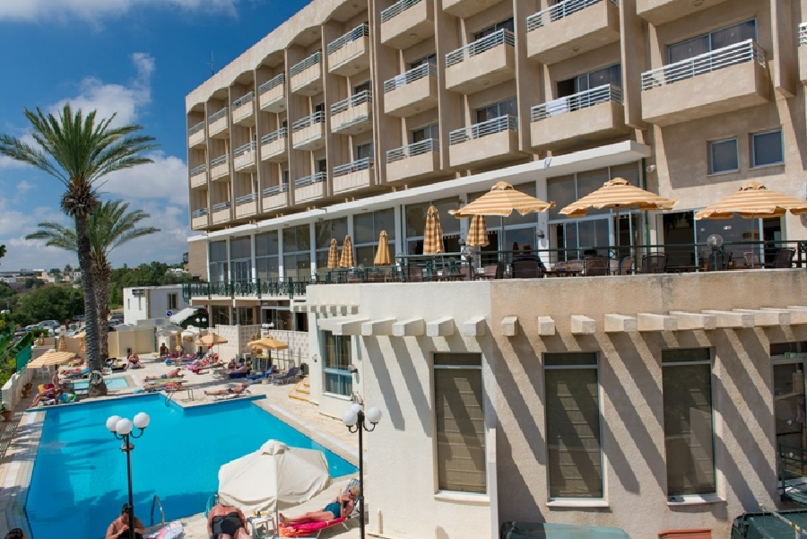 Stay at the Agapinor Hotel, Paphos with Sunway