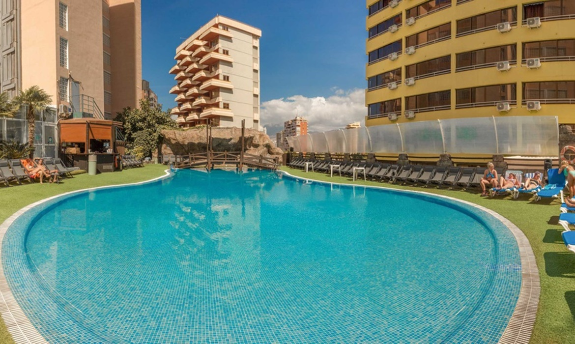 All Inclusive Sun Holidays to Benidorm Celebrations Pool Party Resort